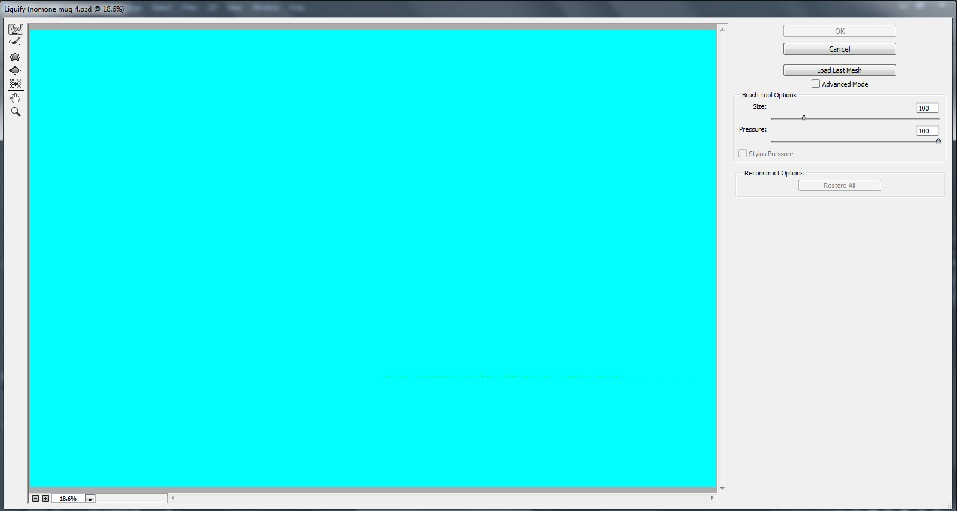 حل مشکل Liquify در نسخه جدید فتوشاپ CC 2105